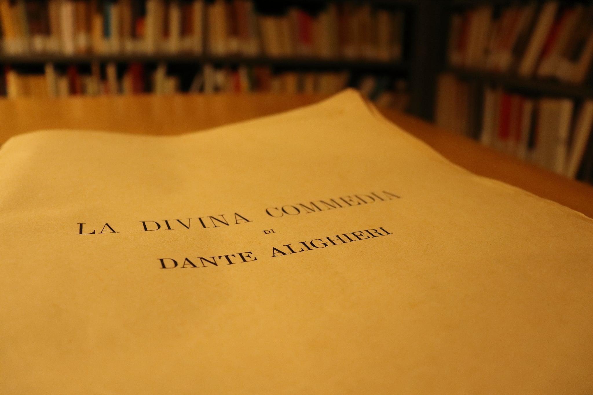 Il Sistema Bibliotecario Lametino cerca 100 volontari come lettori dell'Inferno di Dante e artisti che vogliano esporre i propri lavori