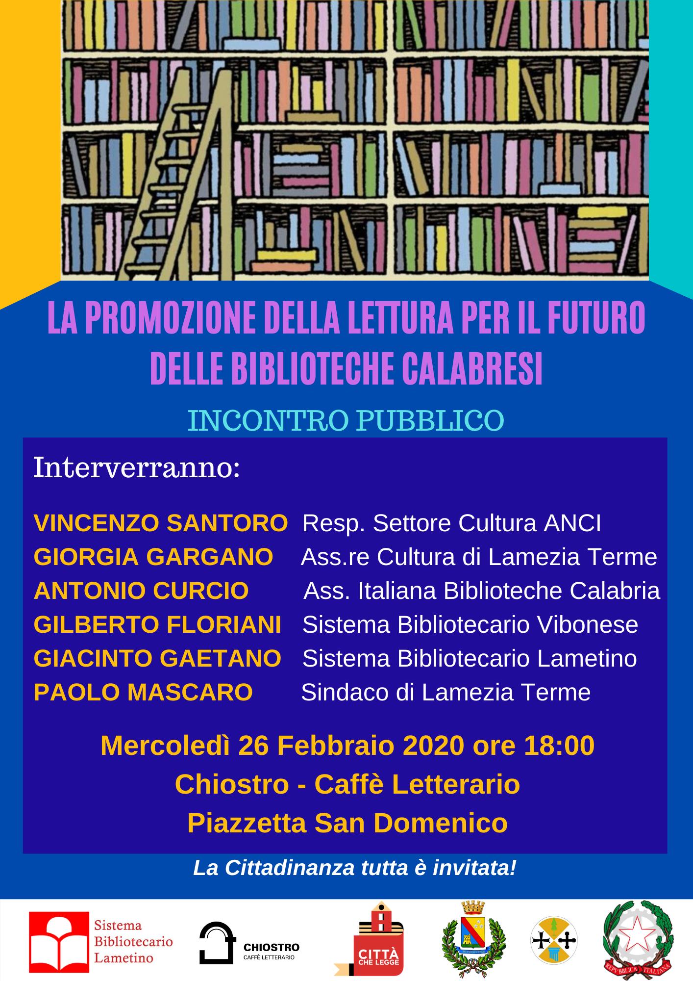 La promozione della lettura per il futuro delle biblioteche Calabresi